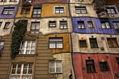 Hundertwasserhaus — Stock Photo