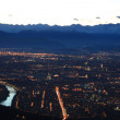 Turin skyline — Stock Photo