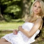 Beautiful adult sensuality woman — Stock Photo #12471027
