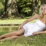 Beautiful adult sensuality woman — Stock Photo #12471033