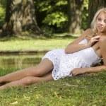 Beautiful adult sensuality woman — Stock Photo #12471040