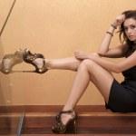 Beautiful adult sensuality woman — Stock Photo #12793688