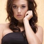 Beautiful adult sensuality woman — Stock Photo #12795434