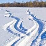 Snow ways — Stock Photo #18027605