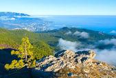 South coast of Crimea and Yalta city from Ai-Petri — Stock Photo