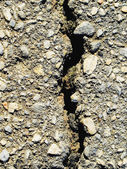 Crack in a monolith — Stock Photo