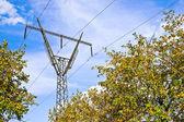 Hoog-voltage power assortiment — Stockfoto