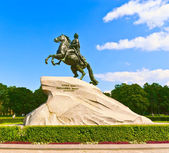 The Bronze Horseman (Peter the Great) — Stock Photo
