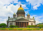 Saint Isaac's Cathedral in Saint Petersburg, Russia. — Stock Photo