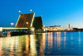 White nights in St.-Petersburg, Russia — Stock Photo