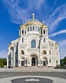 Naval cathedral of Saint Nicholas — Stock Photo