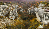 Crimean mountain in late autumn — Foto Stock