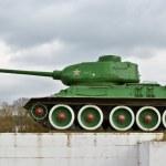 tanque t-34 — Foto de Stock