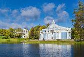 Catherine park in Tsarskoe Selo near St.-Petersburg, Russia — Stock Photo