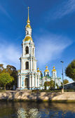 St. Nicholas Naval Cathedral, St.-Petersburg, Russia — Stock Photo