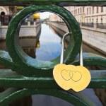 Love padlock — Stock Photo #37181403