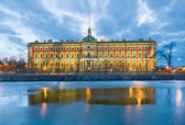 The Mikhailovsky Castle — Stock Photo
