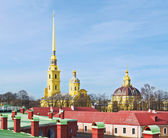 Peter and Paul cathedral. St.-Petersburg, Russia — Stock Photo