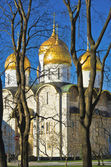 Uspensky sobor, Moscow Kremlin — Stock Photo