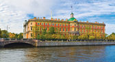 The Mikhailovsky Castle in St.-Petersburg, Russia — Stock Photo