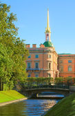 Mikhailovsky Castle. St.-Petersburg, Ru — Stock Photo