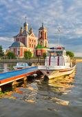 Lake Pleshcheyevo — Stock Photo