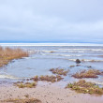 Ladoga lake — Stock Photo