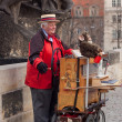 Organ grinder — Stock Photo