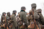 German soldiers — Stock Photo