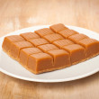 Stock Photo: Sweet toffee