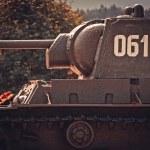 Russian heavy tank KV-1 — Stock Photo #47932713