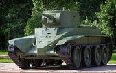 Light cavalry tank BT-5 — Stock Photo