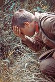 żołnierz armii czerwonej — Zdjęcie stockowe