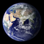 Earth Model — Stock Photo #13623961