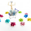 Christmas shopping — Foto Stock