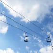 Chair Lift winter — Stock Photo