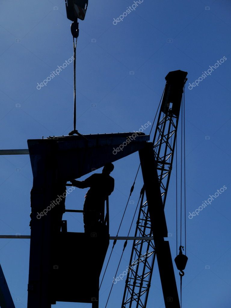 Construction building site build scaffold working structure — Stock Photo #16972125