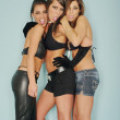Three Friends Woman — Foto de Stock