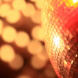 Mirror ball lights — Stock Photo