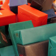 A lot of presents — Stock Photo