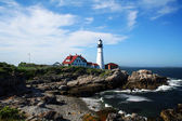 Portland Head Lighthouse in Maine — Stock Photo