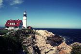 Portland Head Lighthouse, Portland, Maine — Stock Photo