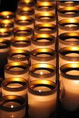 Meditative candles — Stock Photo