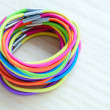 Colored rubber bands — Stock Photo #21755035