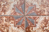 Tile pattern of ancient ceramic tiles. — Stock Photo