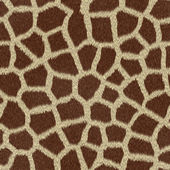 Giraffe skin print — Stock Photo