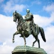 Statue of King Johann (John), Dresden, Germany — Stock Photo #31809277