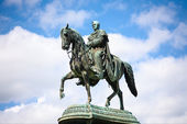 Statue of King Johann (John), Dresden, Germany — Stock Photo
