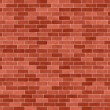Brick wall seamless illustration background — Stock Photo