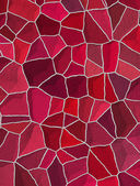 Seamless cracked multi colored pattern in red and pink — Stock Photo